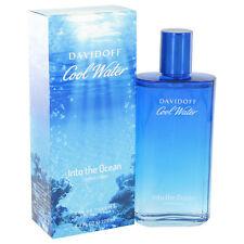 Davidoff Cool Water Into The Ocean Cologne Men Eau De Toilette Spray 4.2 oz