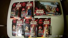 Star wars Episode 1 Commtech/ Comm Tech; lot of 6 toys