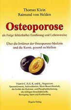 OSTEOPOROSE - Thomas Klein & Dr. Raimund von Helden BUCH - NEU