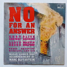 No for the answer CURT OLIVE CONWAY DEERING   MARC BLITZSTEIN AEI 1140 MONO