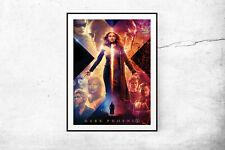 Dark Phoenix Marvel Movie Poster Wall Art Maxi 2019 Prints New Film Cinema-1672