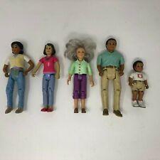"Lot of 5 Fisher Price Loving Family Figures 6"" Mattel F-P"