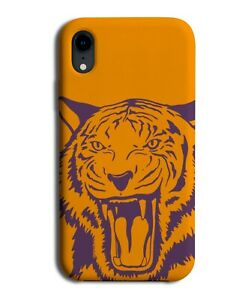 Handdrawn Roaring Tiger Print Phone Case Cover Picture Tigers Face Head Art M684