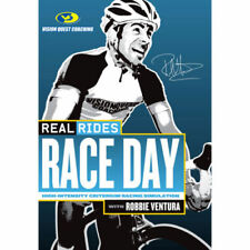 Real Rides RACE DAY With Robbie Ventura DVD CYCLING Tour de France COACH NEW R0
