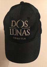 Rare Black Dos Lunas Tequila Partywear Baseball Cap Truckers Hat VG Condition