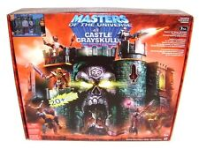 "HE-MAN CASTLE GRAYSKULL Maîtres de l'univers MOTU 6"" Figure Playset 2004 NEW"