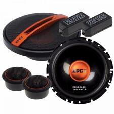 """EDGE EDST216C 6.5"""" Components 140W 165mm 17cm Car Van Shelf Door Speakers Pair"""