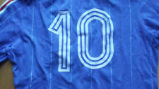 Exceptionnel MAILLOT FOOTBALL FRANCE MICHEL PLATINI ADIDAS Jersey Shirt Vintage