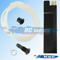 RC Boat Large size water outlet Black 521B50-BK