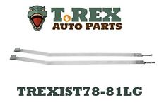 1978-1982 Chevy Corvette fuel tank straps(pair)
