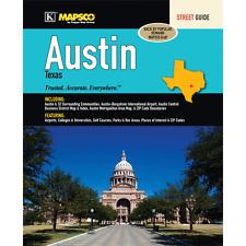 Austin TX Mapsco Street Atlas