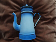 ANCIENNE CAFETIERE EMAILLEE bleu