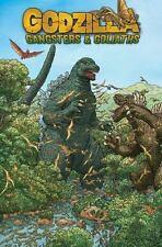 Godzilla Gangsters and Goliaths by John Layman Graphic Pb Idw Comic Book Rare!