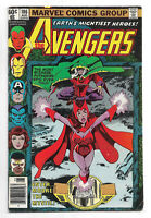 Avengers # 186 Marvel Comics 1979 Modred the Mystic / Chthon / Scarlet Witch