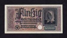 F.C. ALEMANIA GERMANY , 50 REICHSMARK 1940/45 , SC- ( AUNC ) , PICO , R140 .