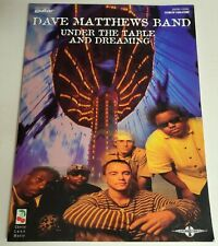 DAVE MATTHEWS BAND UNDER THE TABLE GUITAR TAB SONGBOOK TABLATURE MUSIC BOOK