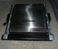 George Foreman GRP3102SBB Removable Plate Grill, Service for 6
