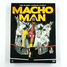 WWE: Macho Man - The Randy Savage Story (DVD, 2014, 3-Disc Set)