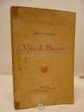 Turolla: Vita Platone, Fratelli Bocca 1939, Biografia, Filosofia, Antica grecia
