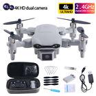 2021 RC Drone 4K HD Wide Angle Camera WIFI FPV Drone Dual Camera Quadcopter