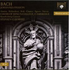 King's College Choir of Cambridge, J.S. Bach - St John's Passion [New CD]