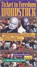 VHS:  TICKET TO FREEDOM WOODSTOCK......ELLIOT TIBER-RICHIE HAVENS