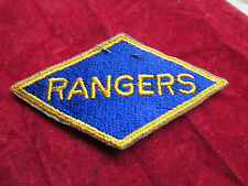 US Army Ranger  Division patch w/ original retail label  D Day