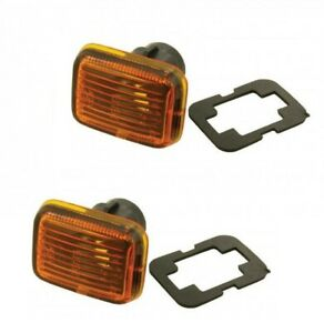 LAND ROVER RANGE ROVER P38 1995-1999 SIDE MARKER REPEATERS ON WING PRC9916 X2
