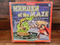 Waddington's Heroes of the Maze Board Game 1991 - Complete