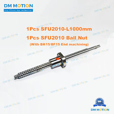 SFU2010 RM2010 1000mm Rolled Ball Screw with SFU2010 ball nut # CNC Part AIXS