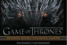 Game of Thrones Season 8 Master Set XL GOLD + Binder (incl. P3 promo)