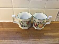 More details for johnson brothers fresh fruits mugs x2.