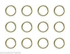 "STURDY KEY RINGS Lot 1000 ~24mm 1"" Split Ring Style ~ GOLD Metal ~ Wholesale LOT"