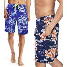 Costume da Bagno Uomo Boxer Mare Hawaiano Shorts a Fiori GIROGAMA 5407IT