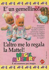 X2183 Magic Nursery - Mattel - Pubblicità 1990 - Advertising