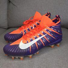 Nike Mens Alpha Menace Elite Football Cleats Clemson Tigers 877141-815 Size 10.5