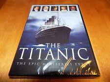 THE TITANIC Epic Mini-Series Event George C. Scott Catherine Zeta-Jones DVD NEW