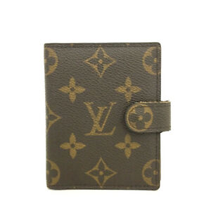Louis Vuitton Monogram Mini Agenda Notebook Cover /B1862
