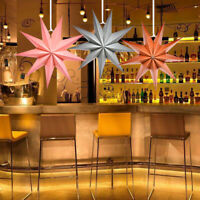 30CM Large 3D Angles Paper Star Hanging Christmas Lantern Home Party Xmas Decor