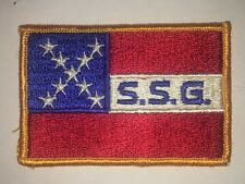 New listing S.S.G. Patch - Vintage - Flag