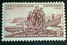 U.S. Scott 1063- Lewis and Clark Expedition, 150 Years- MNH OG 3c 1954