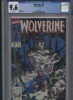 Wolverine #25 CGC 9.6 - 1990 - classic JIM LEE COVER