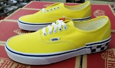 VANS AUTHENTIC (CHECK BLOCK) BLAZING YELLOW  VN0A38EMVJS