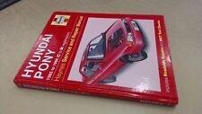 The Hyundai Pony Service Repair Manual (Haynes Service and Repair