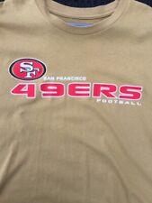 San Francisco 49ers NFL Team Apparel Gold T-Shirt Men's Size 2XL