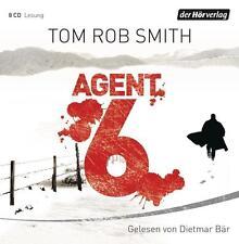 ~ Agent 6 ~ von Tom Rob Smith ~ gelesen vom Dietmar Bär ~ 8 CDs ~ NEU & OVP