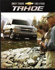 2002  02 Chevrolet  Tahoe original sales  brochure MINT