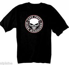 T-Shirt MC HARDCORE SKULL - Taille XXL - Style BIKER HARLEY