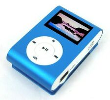Metal Clip Digital Graphic LCD Screen with 7 EL Color 8GB MP3 Player