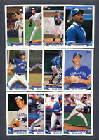 1993 Topps Toronto Blue Jays TEAM SET w/ Traded